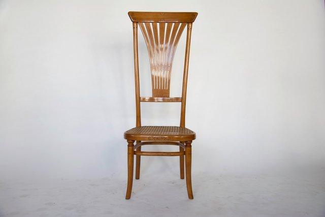 Sedia con schienale alto di thonet in vendita su pamono