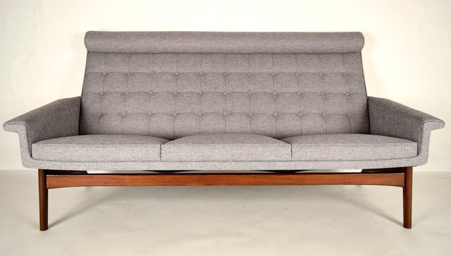Mid Century Modern 3 Seater Sofa By