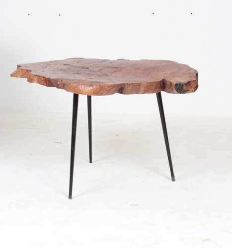 Vintage Wooden Side Table For Sale At Pamono
