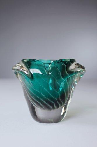 Mid Century Finnish Emerald Green Vase By Nanny Still 1960s For