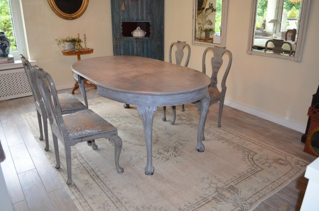 Antique Dining Room Set For At Pamono, Antique Dining Room Table