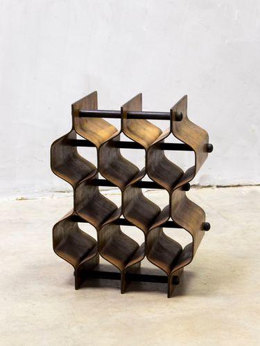 mid century modern wine rack by torsten johansson for ab formtr for rh pamono com