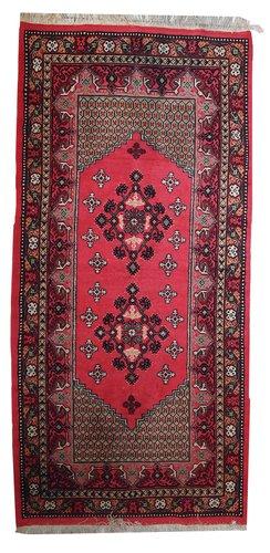 algerischer handgekn pfter vintage berber teppich 1970er bei pamono kaufen. Black Bedroom Furniture Sets. Home Design Ideas