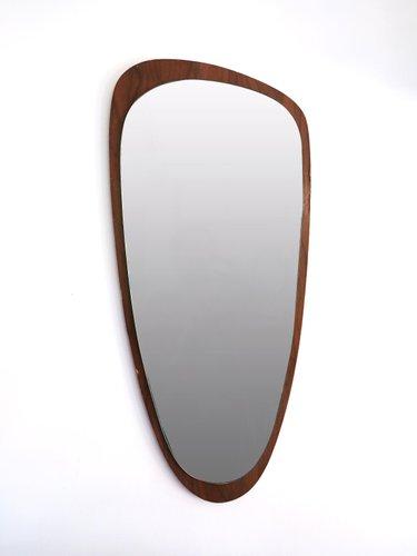 free form mirror  Free Form Teak Mirror, 9s