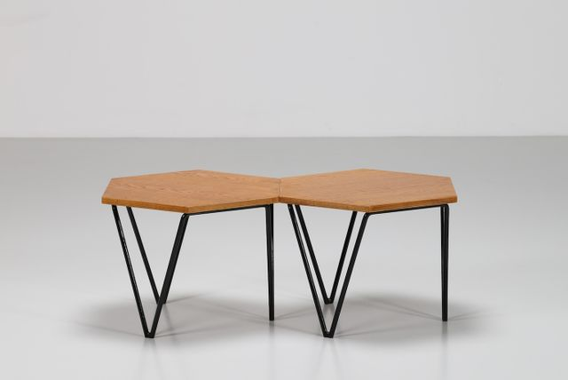 MidCentury Coffee Tables By Gio Ponti For Isa S Set Of For - Cheap mid century coffee table
