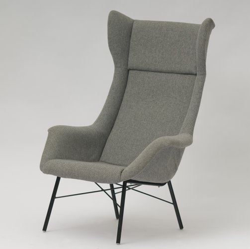 Mid Century Armchair By Miroslav Navr 225 Til For Ton 1960s