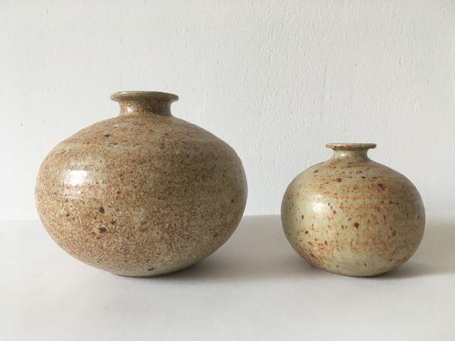 Mid Century Italian Vases 1960s Set Of 2 For Sale At Pamono
