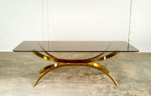 table basse sculpt e dor e italie 1970s en vente sur pamono. Black Bedroom Furniture Sets. Home Design Ideas