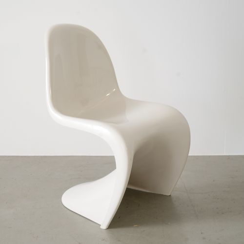 White Cantilevered S Chair by Verner Panton for Herman Miller 1972 for sale at Pamono & White Cantilevered S Chair by Verner Panton for Herman Miller 1972 ...