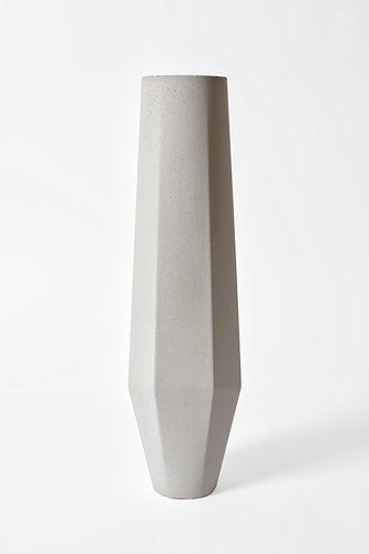 Marchigue White Concrete Vases By Stefano Pugliese For Crea Concrete