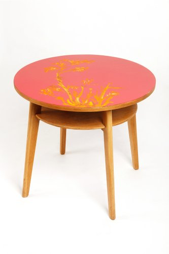 Table Basse Style Japonais Mid-Century