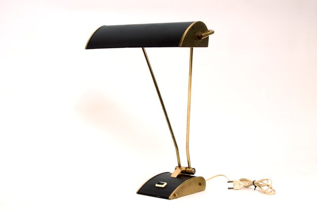 Art Deco French Table Lamp By Eileen Gray For Jumo For Sale At Pamono