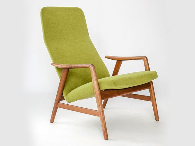 Teak Lounge Chair By Alf Svensson For Fritz Hansen 1959