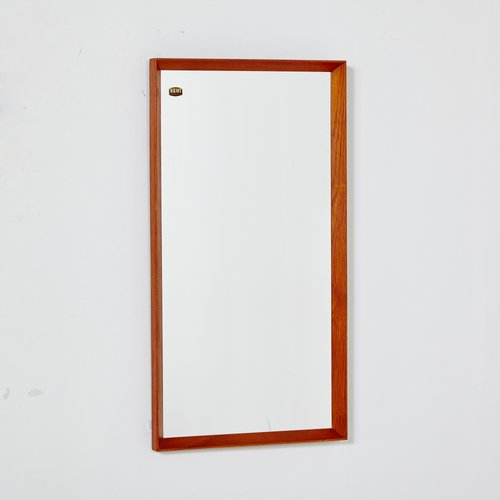 Mid Century Teak Mirror From Kent 1960s For Sale At Pamono