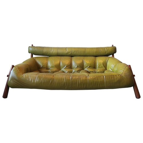 Leather Sofa From Percival Lafer
