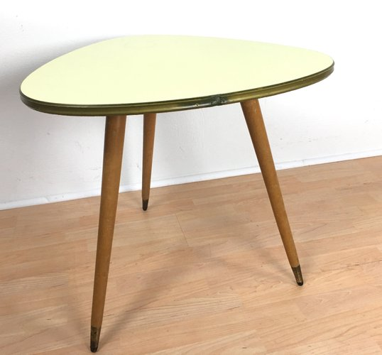 Vintage Kidney-Shaped Coffee Table For Sale At Pamono
