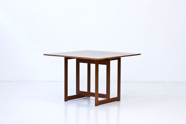 Square Mahogany Coffee Table From Karl Andersson Söner 1950s For At Pamono
