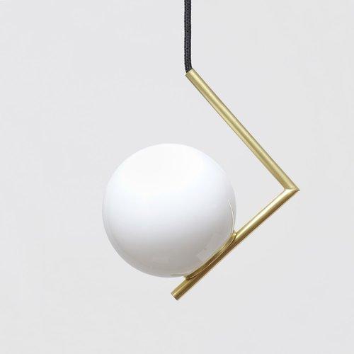 Minimal Modern Geometric Pendant Lamp From Balance