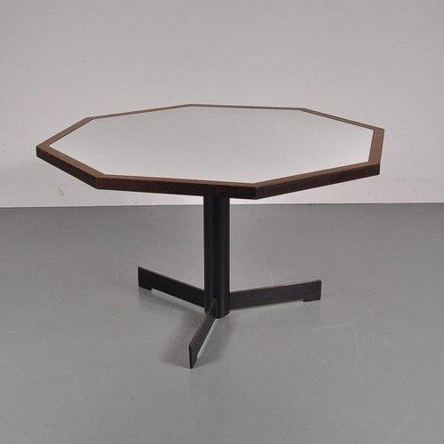 sechseckiger esstisch von martin visser f r 39 t spectrum 1960er bei pamono kaufen. Black Bedroom Furniture Sets. Home Design Ideas