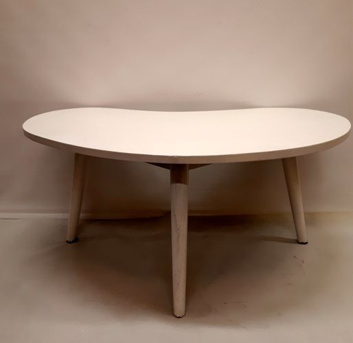 MidCentury Kidney Shaped Coffee Table For Sale At Pamono - Mid century modern kidney shaped coffee table