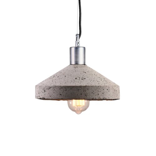 Grey Concrete Rocket Ceiling Lamp By Bogumił Gala For Galaeria Factory For Sale At Pamono