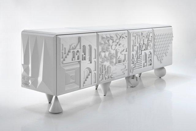 meuble tout va bien par antoine et manuel pour bd barcelona en vente sur pamono. Black Bedroom Furniture Sets. Home Design Ideas