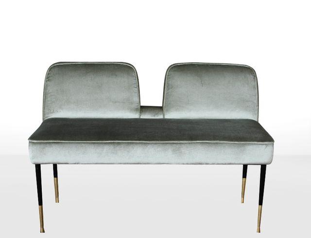 Tremendous Long Mid Century Italian Bench In Velvet Spiritservingveterans Wood Chair Design Ideas Spiritservingveteransorg