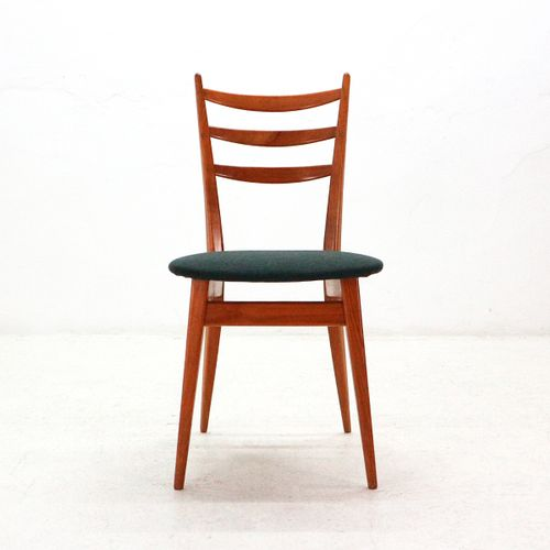 Cherrywood Dining Chairs, 1950s, Set Of 4 For Sale At Pamono