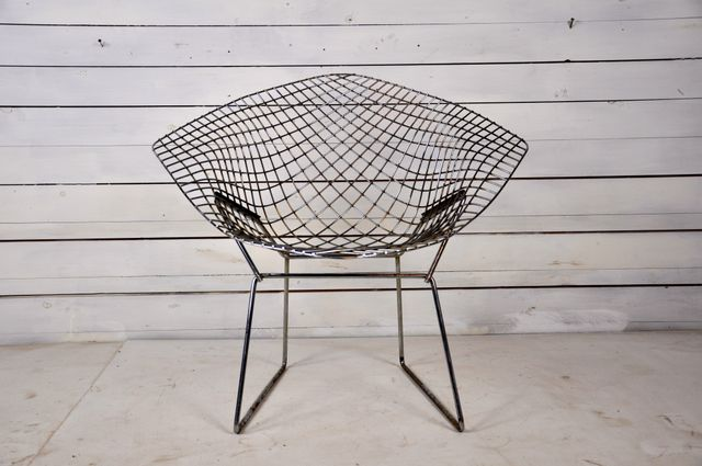 Mid Century Diamond Chair By Harry Bertoia For Knoll International For Sale  At Pamono
