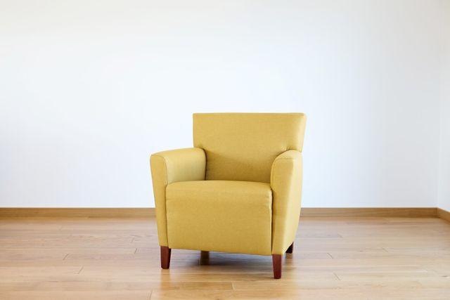 Fauteuil Jaune Vintage fauteuil jaune vintage, 1960s en vente sur pamono