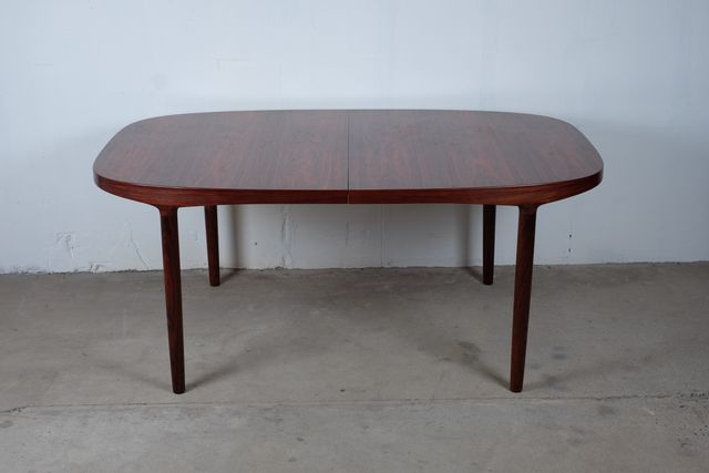 Modern Mid Century Rosewood Dining Table by Harry ˜stergaard for Randers for sale at Pamono Top Design - Beautiful mid century modern glass dining table Elegant