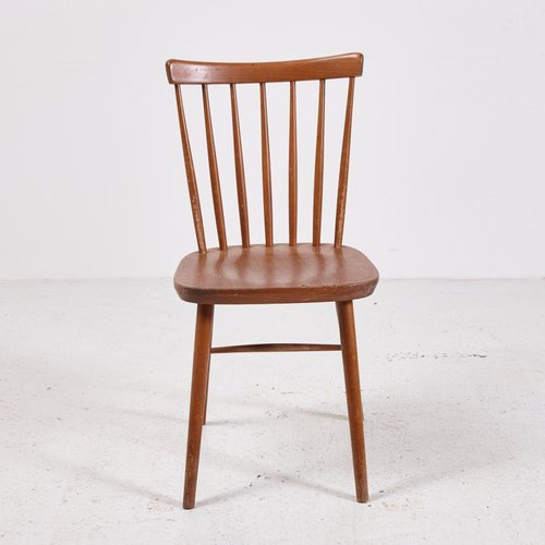 Vintage Wooden Chair, 1970s For Sale At Pamono