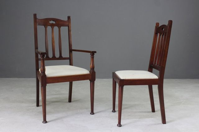 - Antique Dining Chairs, Set Of 6 For Sale At Pamono