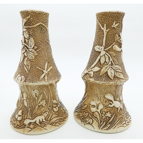 Large Antique Vases By Henry Tooth For Bretby 1900s For Sale At Pamono