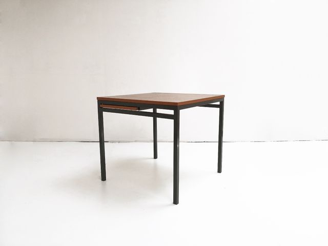 Ausziehbarer Quadratischer Esstisch Von Florence Bassett Knoll Für De Coene  Bei Pamono Kaufen