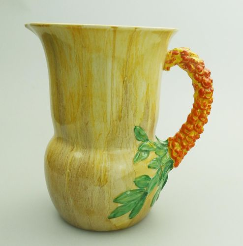 British Jug By Clarice Cliff For Newport Pottery 1930s For Sale At