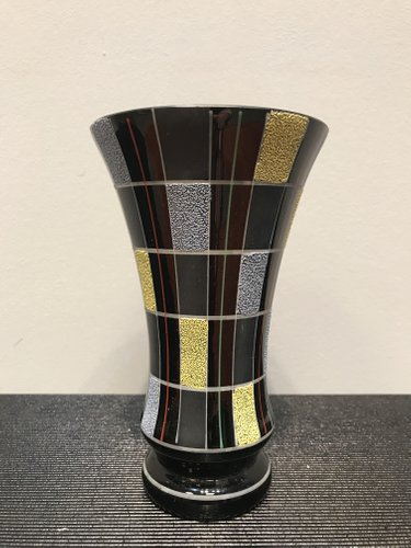 Polish Modernist Glass Vase 1950s For Sale At Pamono