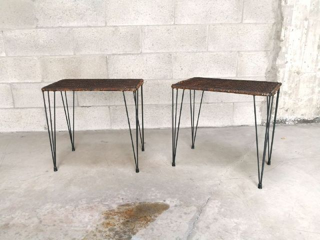 italienische couchtische von campo graffi 1960er 2er set bei pamono kaufen. Black Bedroom Furniture Sets. Home Design Ideas