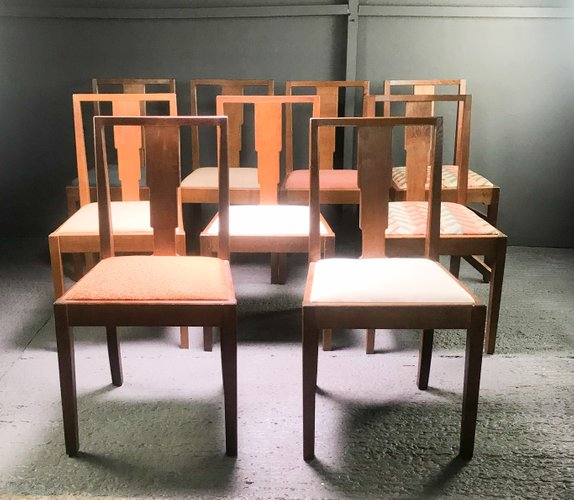 Dining Chairs From Gordon Russell 1930s Set Of 9 For Sale At Pamono