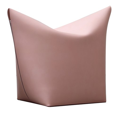 Brandina Pouf.Light Pink Mao Pouf By Viola Tonucci For Tonucci Manifestodesign