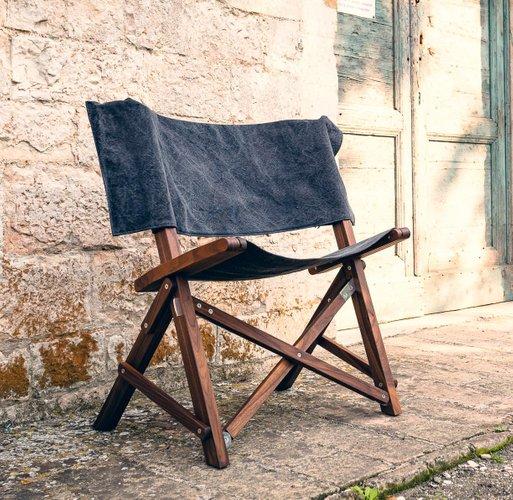 Incredible Dino Walnut Cotton Chair By Tonuccidesign For Tonucci Manifestodesign Dailytribune Chair Design For Home Dailytribuneorg