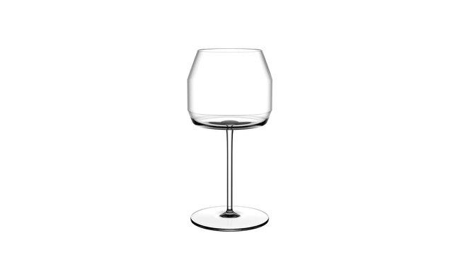 Verre à Vin Pod Blanc par Zaim Design Studio, 2018
