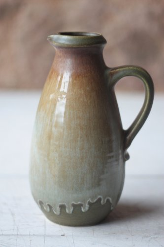 West German Pottery Vase From Scheurich 1970s For Sale At Pamono