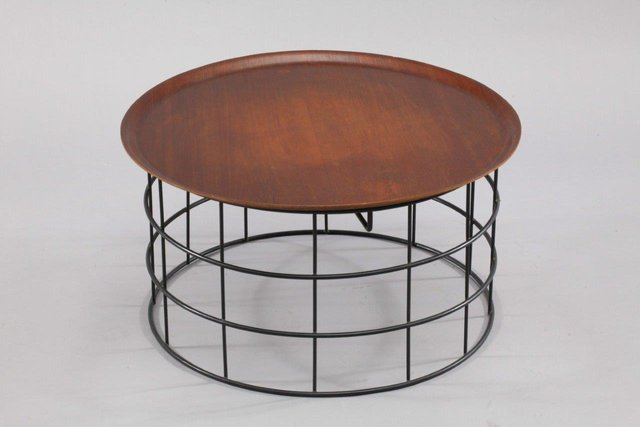 Wire Coffee Table By Verner Panton, 1960 For Sale At Pamono