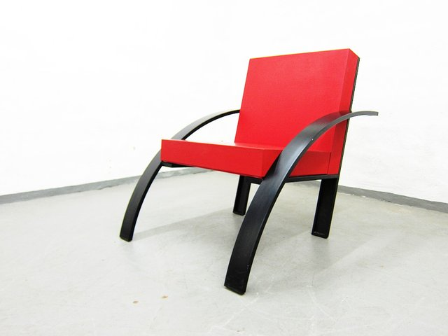 Parigi Armchair by Aldo Rossi for Unifor, 1980s