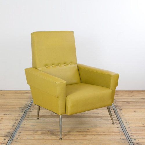Fauteuil Jaune Vintage fauteuil jaune vintage en vente sur pamono