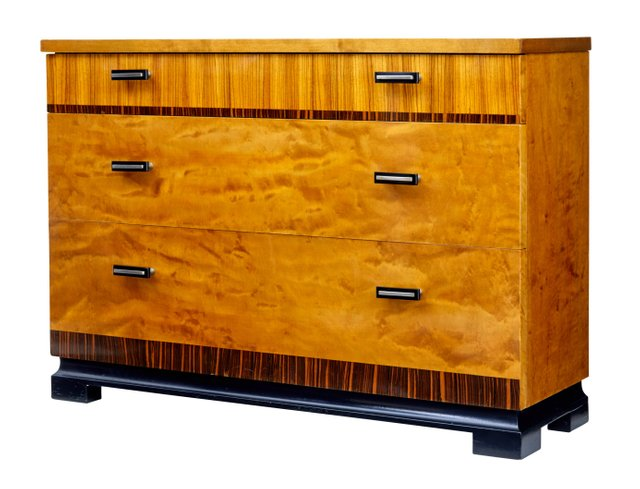 Small Scandinavian Modern Chest Of Drawers, 1950s For Sale At Pamono