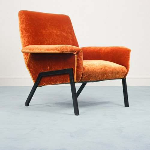 Mid Century Italian Lounge Chair 1950s For Sale At Pamono