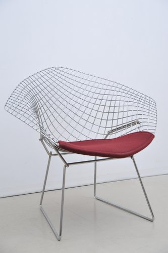Vintage Diamond Chair By Harry Bertoia For Knoll International For Sale At  Pamono