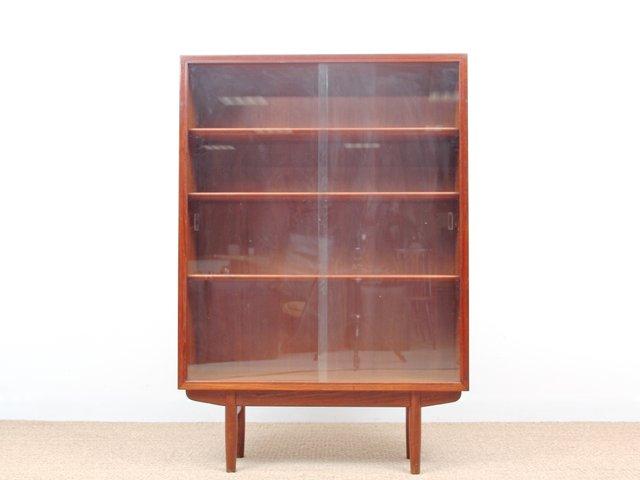 Mid Century Danish Teak Display Cabinet By Borge Mogensen For Søborg For  Sale At Pamono